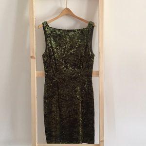 Vintage 90's Era Velvet Dress.